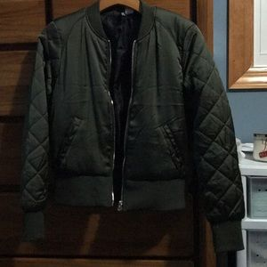 NEW LISTING!! Army Green Bomber